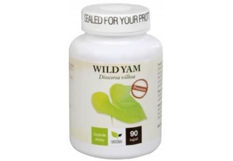 Natural Medicaments Wild Yam Premium 90 cps.
