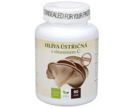 Hlíva ústřičná Premium s vitamínem C 90 tablet