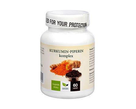 Natural Medicaments Kurkumin piperin komplex 60 tbl.