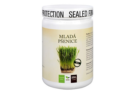 Natural Medicaments Mladá pšenice BIO 250 g