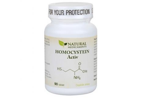 Natural Medicaments Homocystein Activ 90 tbl.