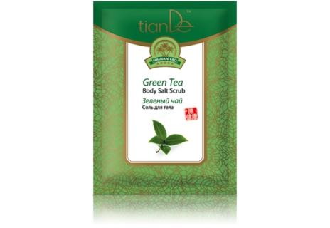 TianDe Tělová sůl Zelený čaj