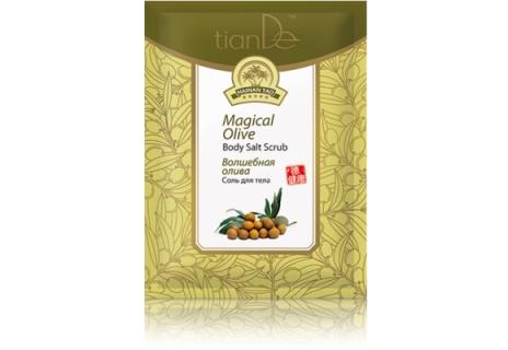 TianDe Tělová sůl Kouzelná oliva