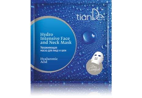 Intenzivní hydratační maska na obličej a krk Hyaluronová kyselina