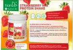 Tian De Jahodový proteinový koktejl - mix se sladidlem