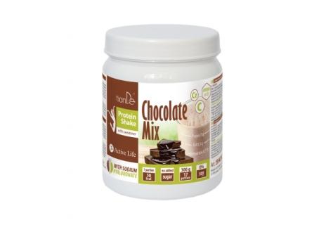 Tian De Čokoládový proteinový koktejl-mix se sladidlem