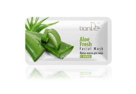 Osvěžující pleťová maska s Aloe
