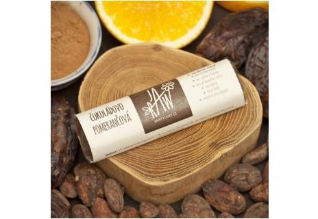 Raw tyčinka Čokoládovo-pomerančová 50 g