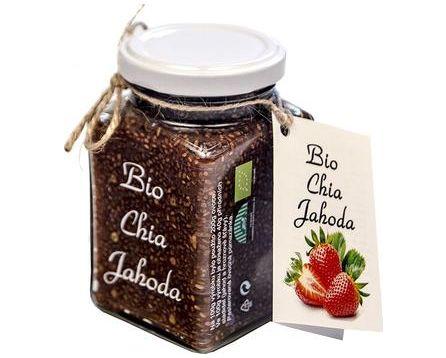 Dr.Hlaváč BIO Chia Jahoda 260 g