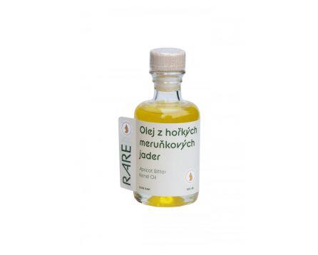 Olej z hořkých meruňkových jader - nefiltrovaný - extra panenský RAW 100 ml