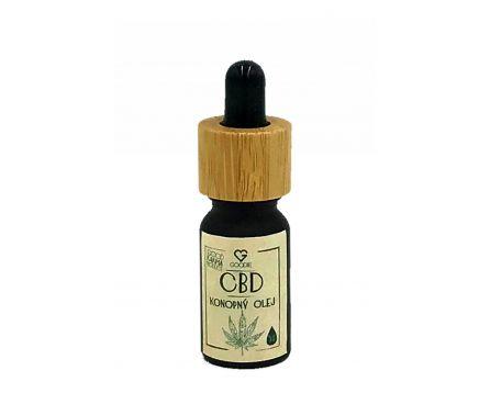 CBD - Konopný olej 5% full spectrum 10 ml
