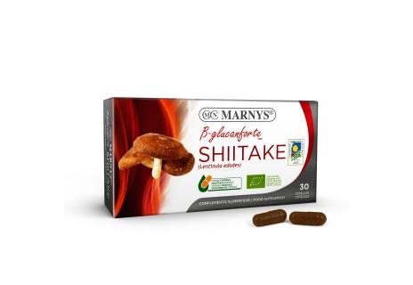 Marnys Shiitake 30 tobolek (Houževnatec jedlý)