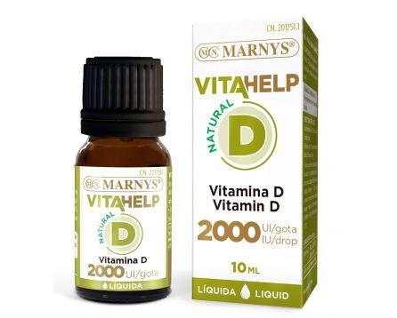 Tekutý vitamin D 2000 IU VITAHELP Line