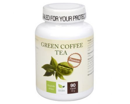 Natural Medicaments Green Coffee Tea 90 cps.