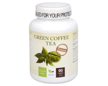 Natural Medicaments Green Coffee Tea 90 cps.